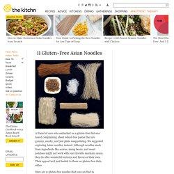 11 Gluten-Free Asian Noodles
