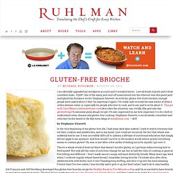 How to Make Gluten Free Brioche