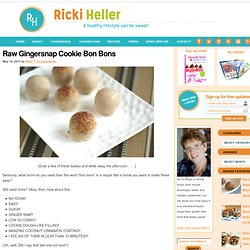 Raw Gingersnap Candy