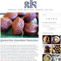 gluten-free chocolate financiers
