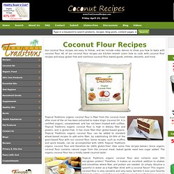 Gluten-Free Coconut Flour Recipes