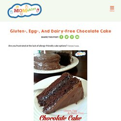gluten egg dairy free chocolate cake recipe