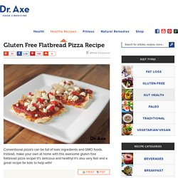 Gluten Free Flatbread Pizza Recipe