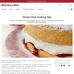 Gluten-free cooking tips