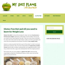 Gluten-Free Diet – INCREDIBLE Menu for Weight Loss