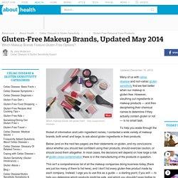 Gluten-Free Makeup Brands