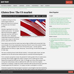 JUST FOOD 30/04/13 Gluten free: the US market