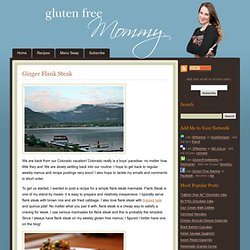 Gluten Free Mommy | Gluten Free Recipes for the Whole Family