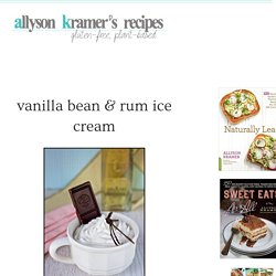 Vegan & Gluten-Free Recipes by Allyson Kramer
