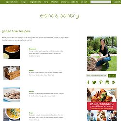 Free Gluten Free Recipes