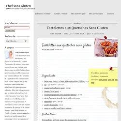 Chef sans Gluten - Tartelettes aux Quetsches Sans Gluten