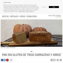 Pan sin gluten de trigo sarraceno y arroz