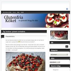 glutenfri brittatårta