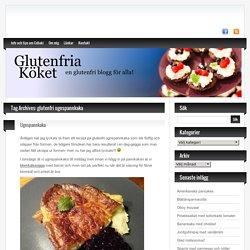 glutenfri ugnspannkaka