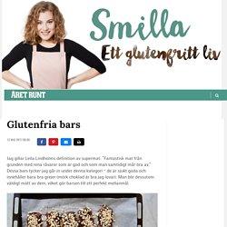 Glutenfria bars