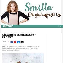 Glutenfria dammsugare – RECEPT