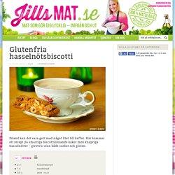 Glutenfria hasselnötsbiscotti - Jills MAT