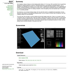 GLV GUI Toolkit