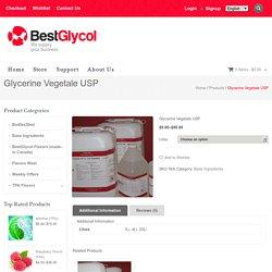 Glycerine Vegetable in Montreal