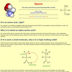 Glycine - MOTM 2010 - HTML-only version
