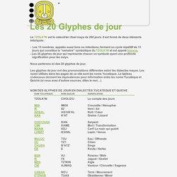 glyphes de jour