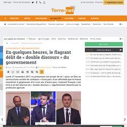 Glyphosate et surtransposition : le double discours de la France