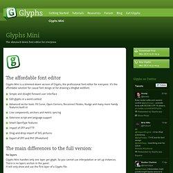 Glyphs Mini