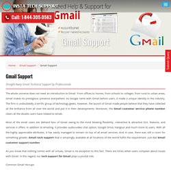 Fix Gmail issues through experts