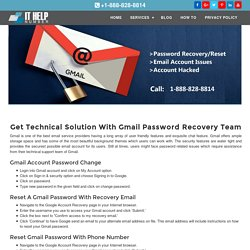1-888-828-8814 Gmail Password Recovery