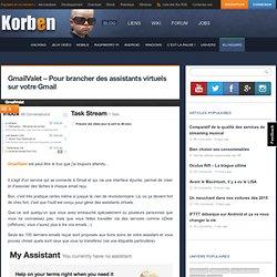 GmailValet – Pour brancher des assistants virtuels sur votre Gmail