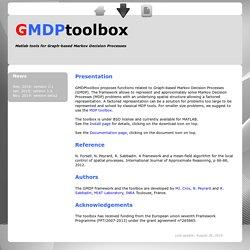 GMDPtoolbox