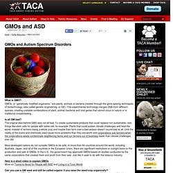 GMOs and ASD