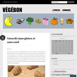 Gnocchi sans gluten et sans oeuf