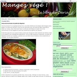 Gnocchi de sarrasin en gratin de légumes - Mangez végé!