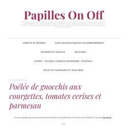 Poêlée de gnocchis aux courgettes, tomates cerises et parmesan
