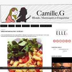 Gnocchis sans gluten : le délice ! - Blonde, Mannequin et Enquêtrice