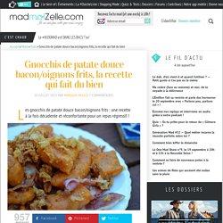 Gnocchis de patate douce bacon/oignons frits, la recette qui fait du bien