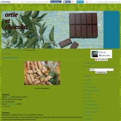 Gnocchis d'okara - Ortie et Chocolat