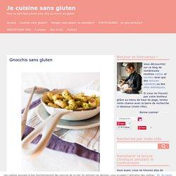 gnocchis sans gluten