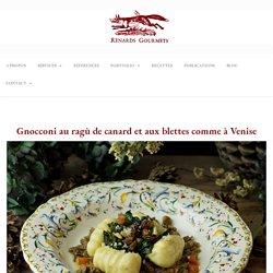 Gnocconi au ragù de canard – Renards Gourmets