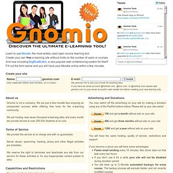 Gnomio: Learning tools for everyone