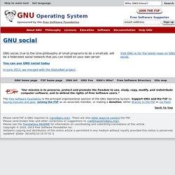 Group:GNU Social - LibrePlanet