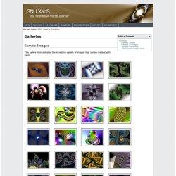 GNU XaoS - Galleries