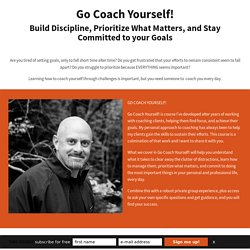 Go COACH Yourself! - OWNER