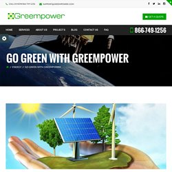 Go Green with Greempower - Greempire
