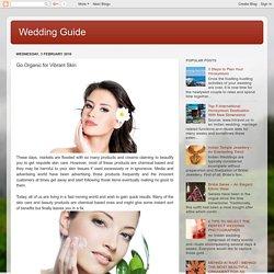 Go Organic for Vibrant Skin