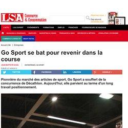 Go Sport se bat pour revenir dans la course