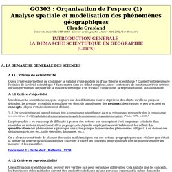 GO303 : Introduction / cours