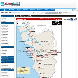 Goa Railway Map, Goa Railways, Goa Railway Station