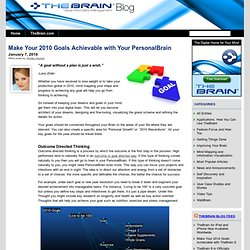 » Make Your 2010 Goals Achievable with Your PersonalBrain